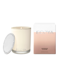 Ecoya - Madison Jar Candle - Cedarwood & Leather